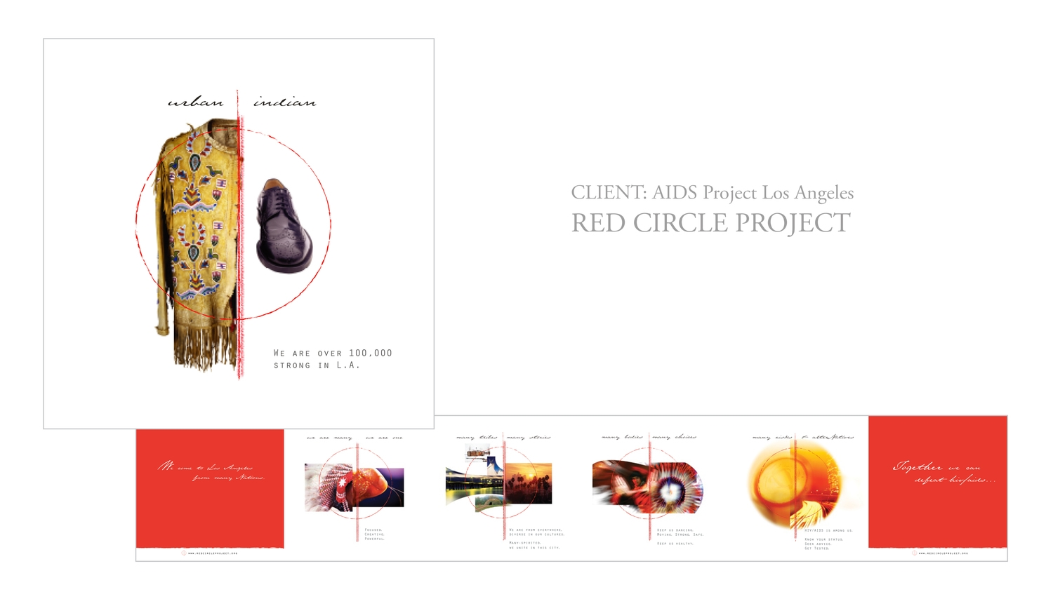 Red Circle Project Branding and collateral