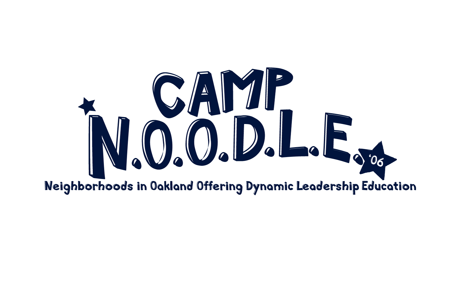 Logo for a youth camp