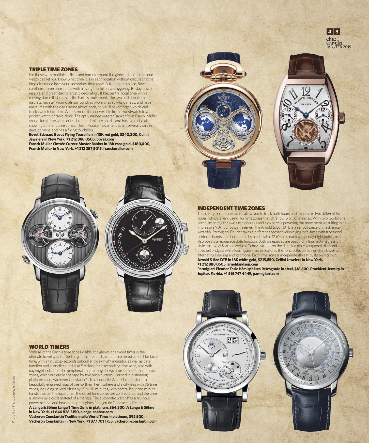 January/February 2019 | Travel Watches