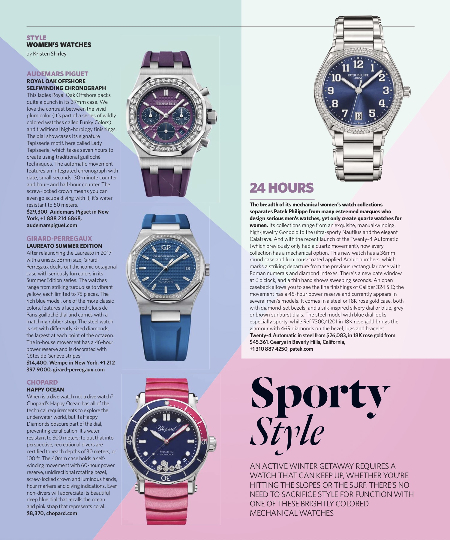 January/February 2019 | Sporty Watches