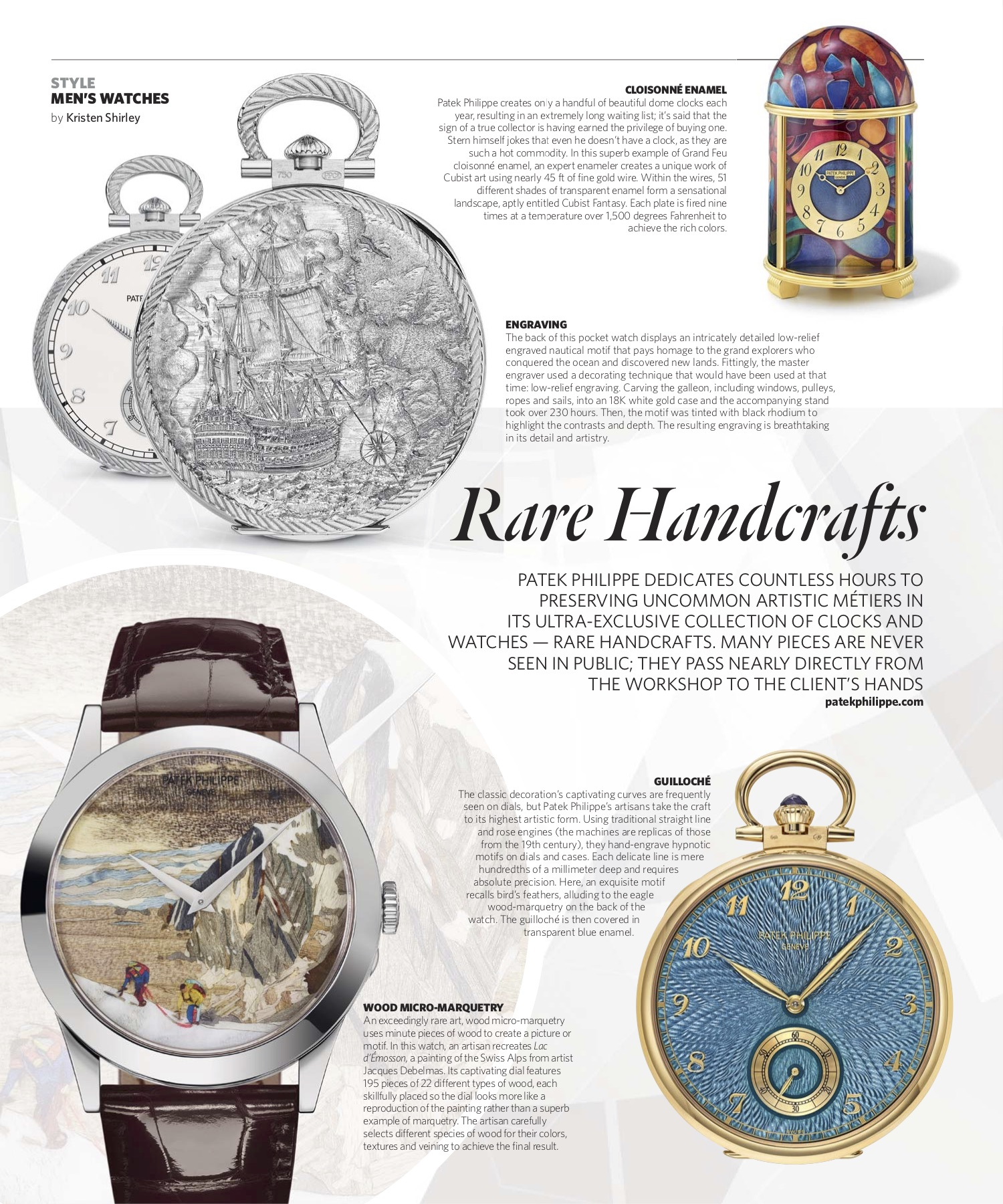 November/December 2018 | Patek Philippe's Rare Handcrafts