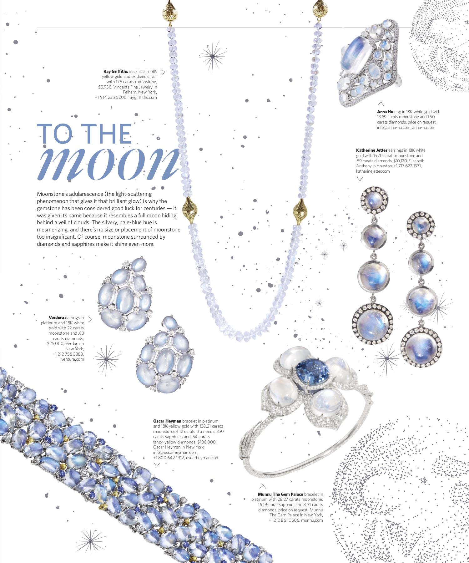 Spring 2019 | Moonstone Jewelry