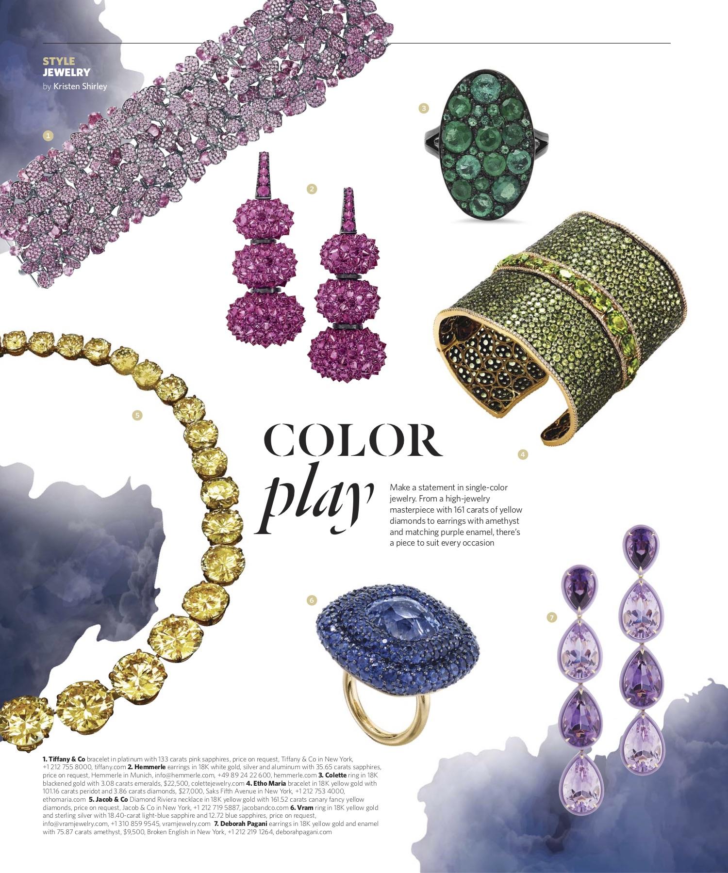 January/February 2019 | Monochrome Jewelry