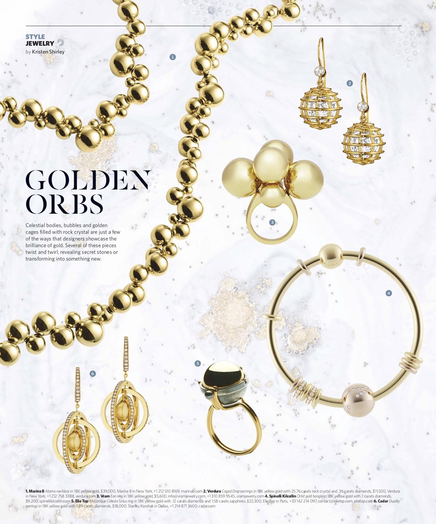 November/December 2018 | Golden Orbs
