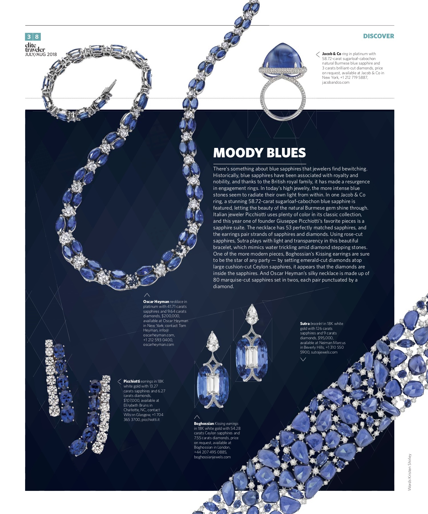 July/August 2018 | Sapphires