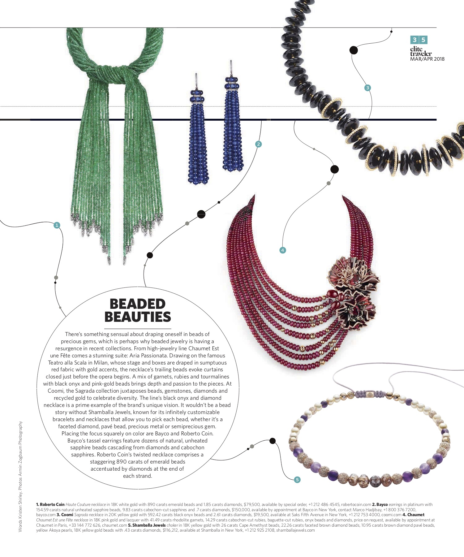 March/April 2018 | Beaded Jewelry