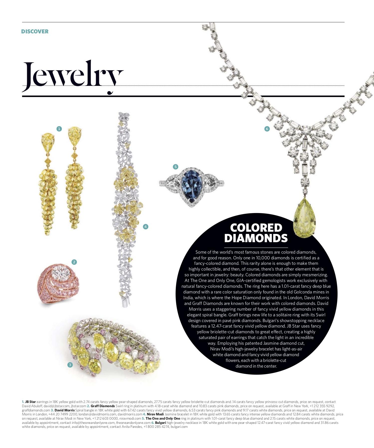 March/April 2017 | Colored Diamonds
