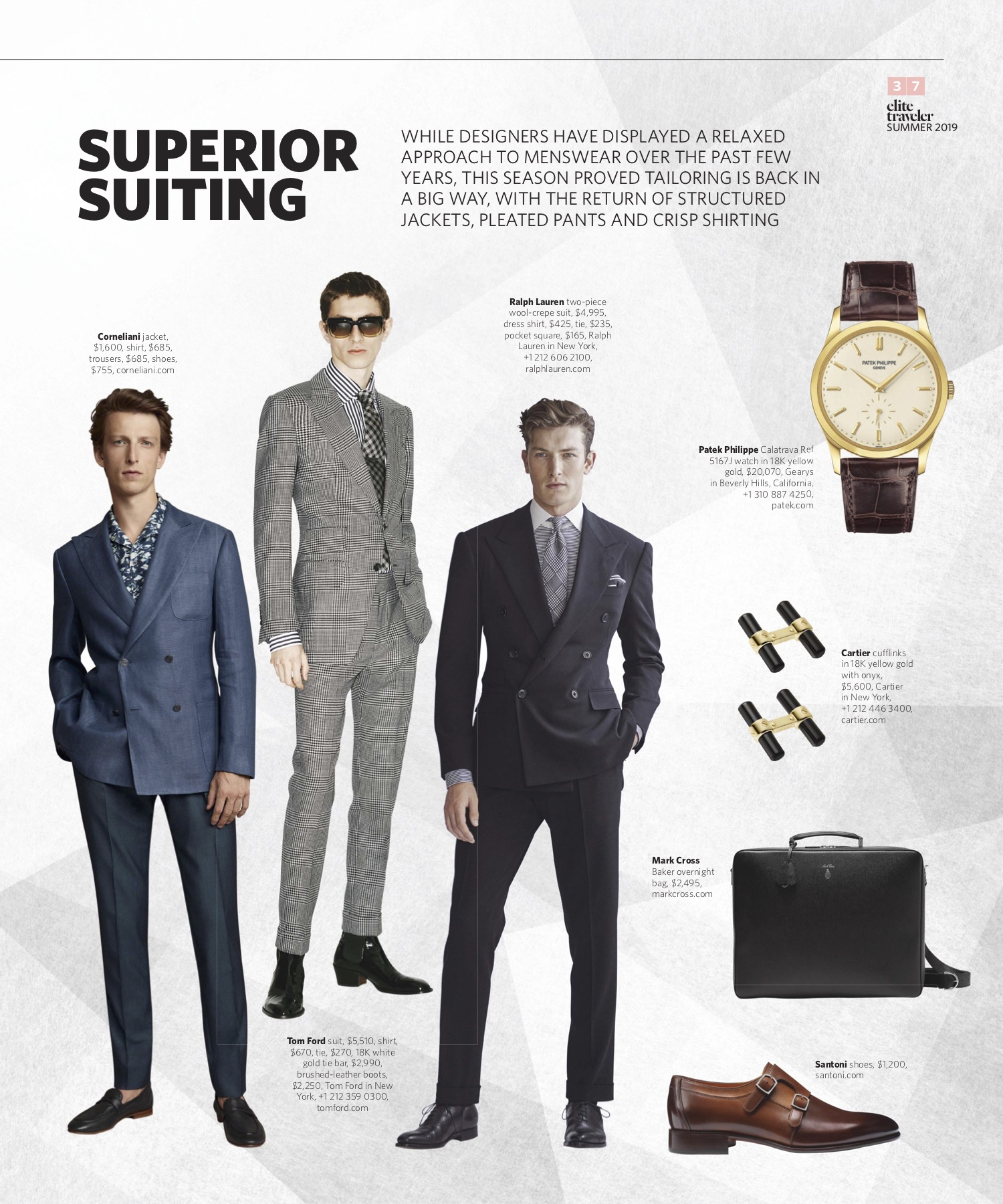 Summer 2019 | Suiting