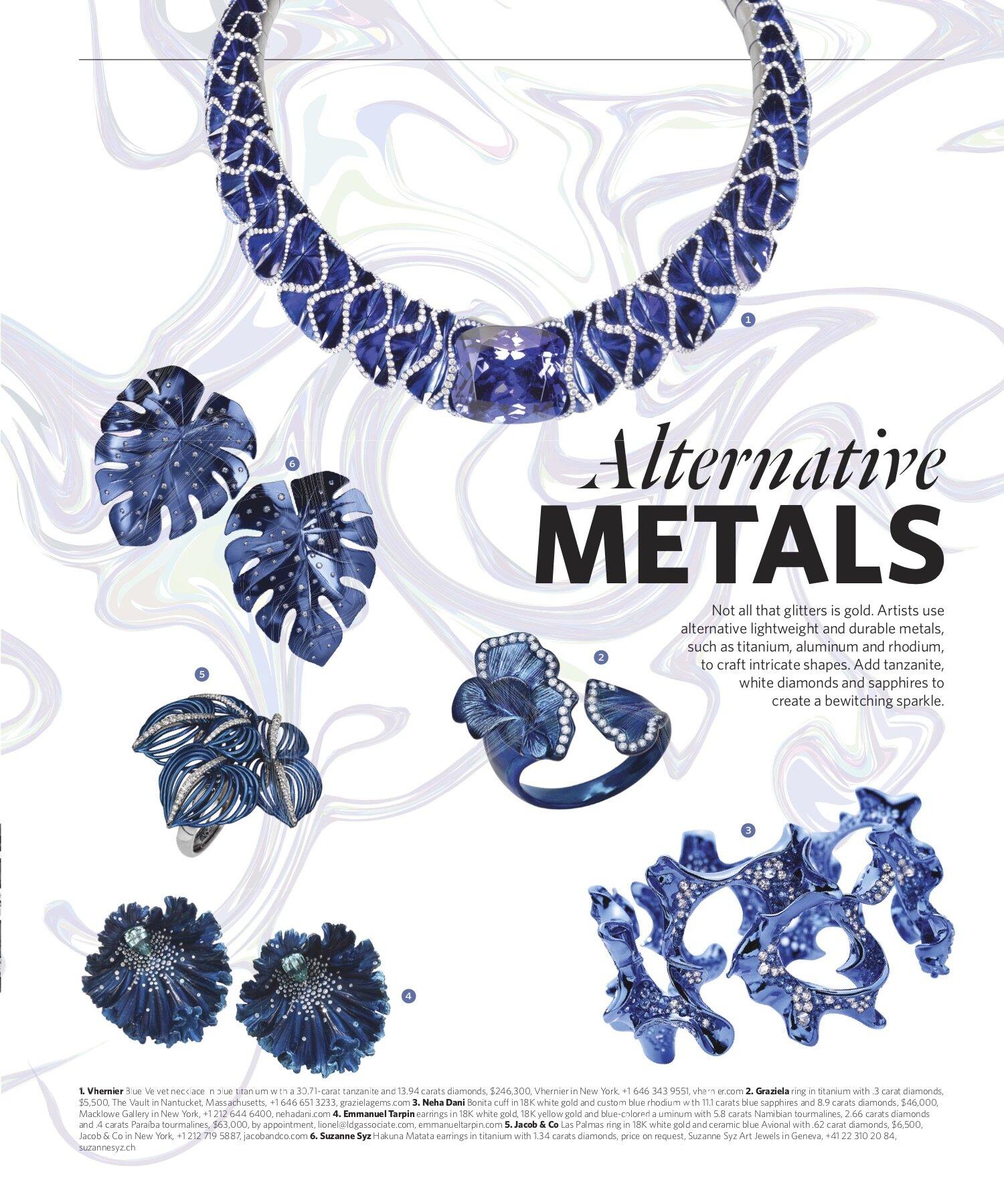 Fall 2019 | Alternative Metals