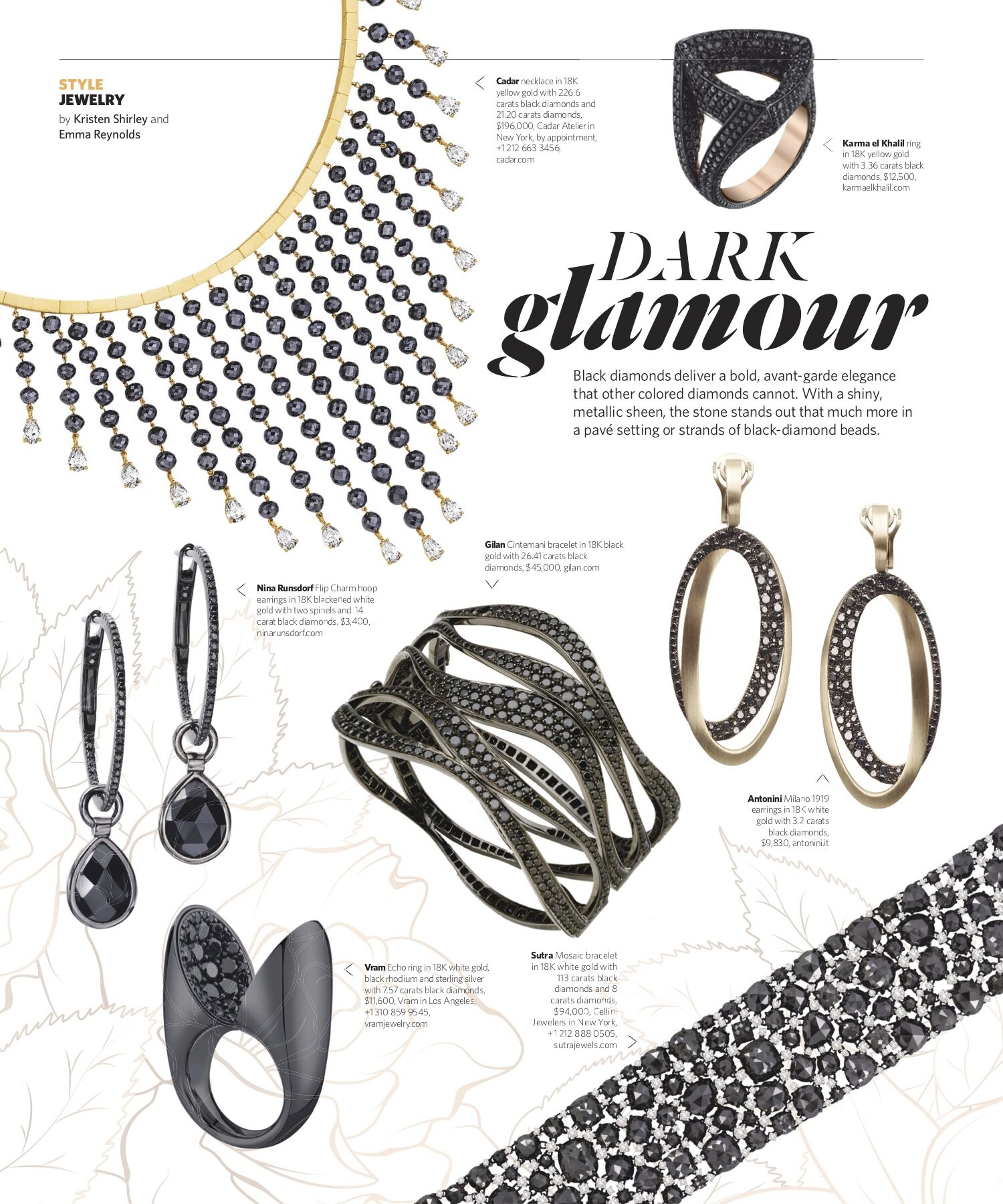 Fall 2019 | Black-Stone Jewelry