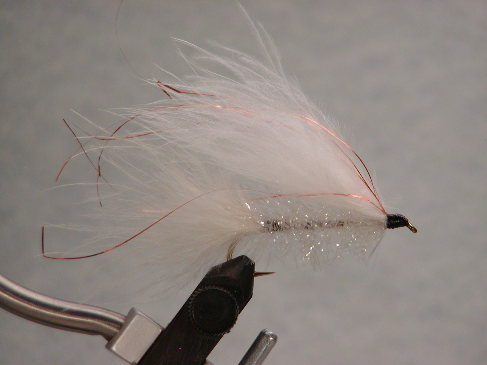 White #4, Jay Fair Trolling Fly. $5.49, sold in pairs.