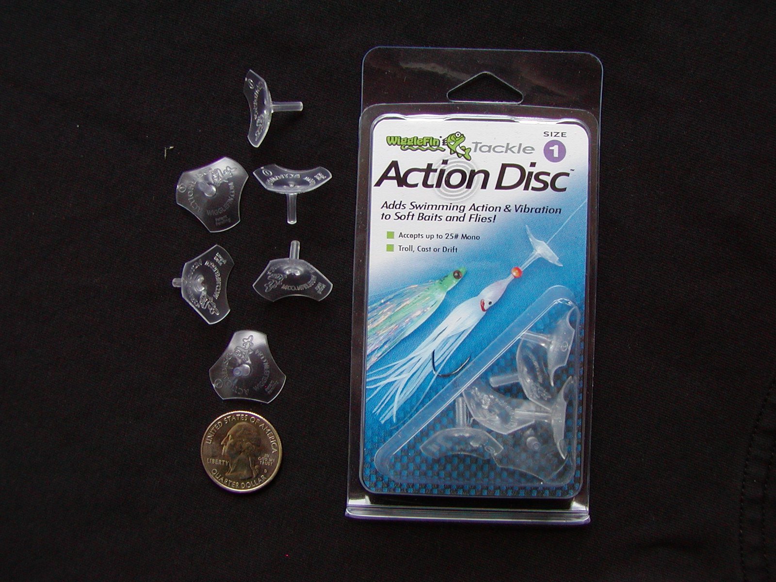 Size #1 Action Disc, Delta Series  $4.75 per package of 6 pieces