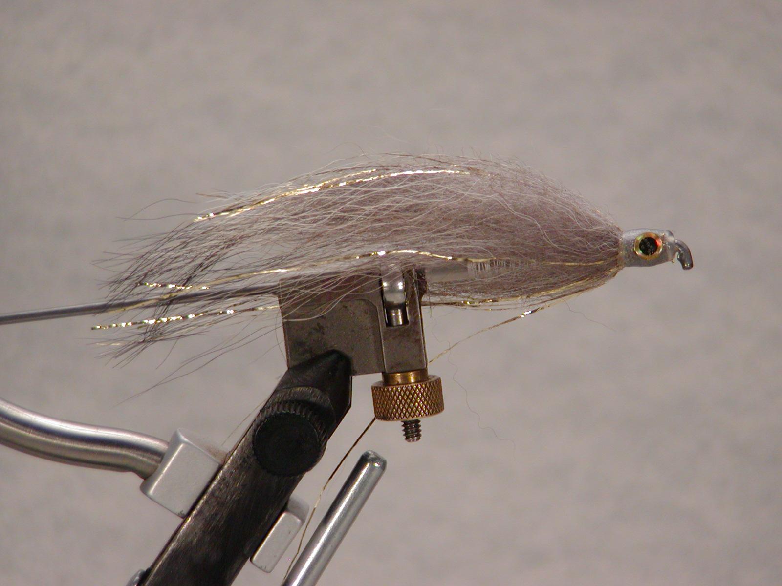 Gray-Gold Flash Tube Fly