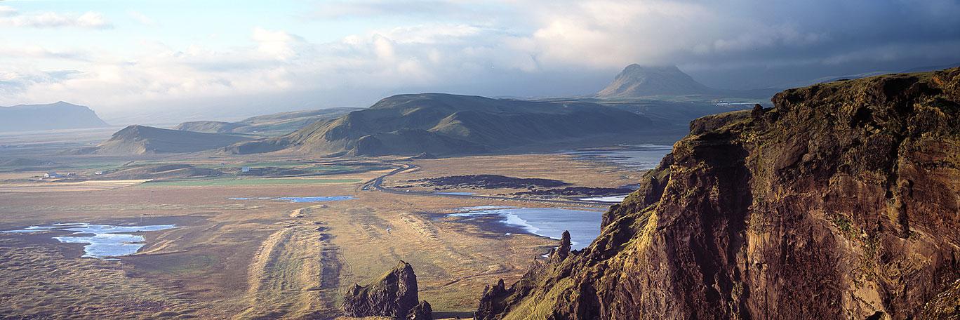 Looking towards Katla Volcano : Iceland