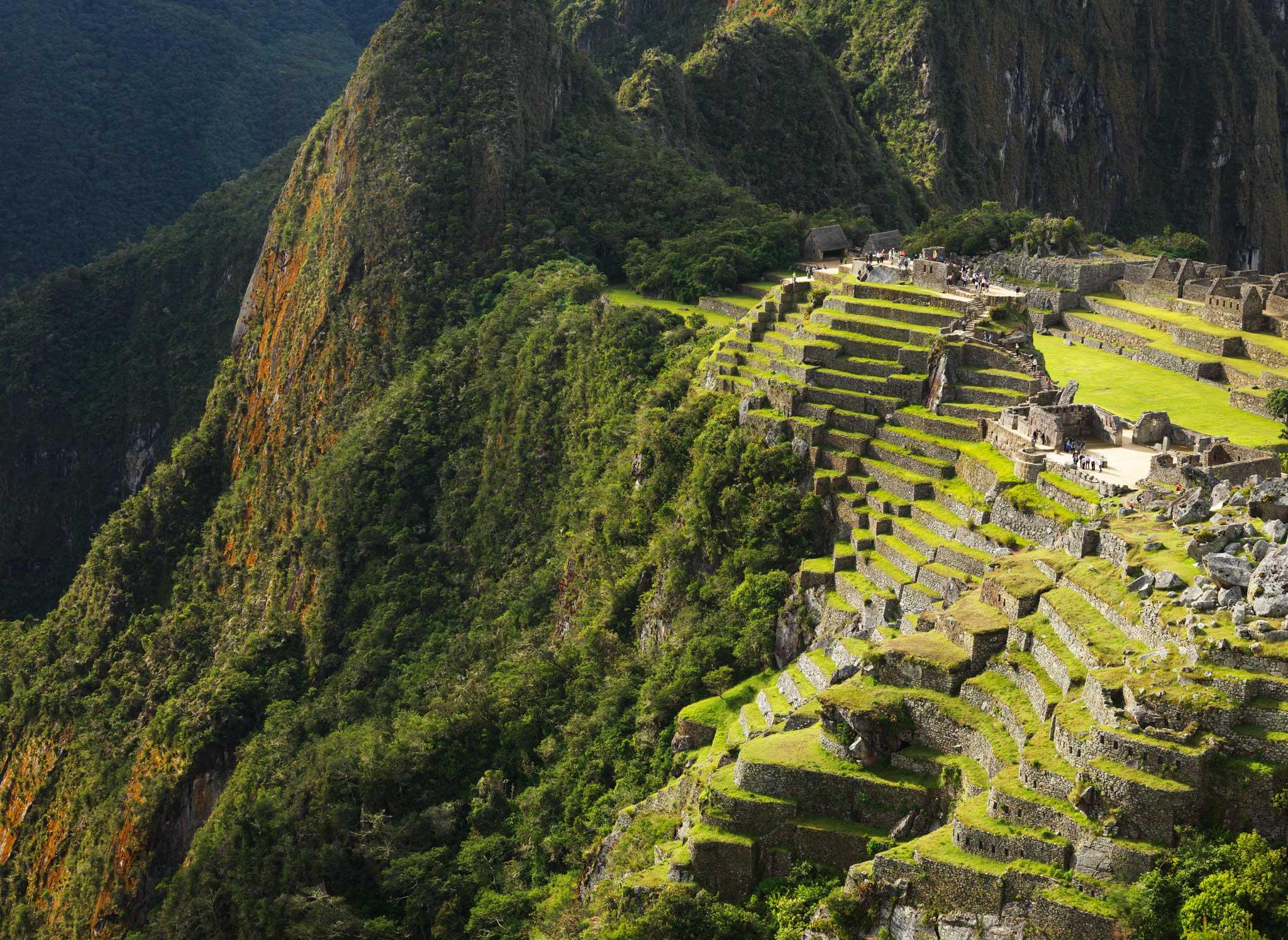 Machu Picchu evening light : Peru