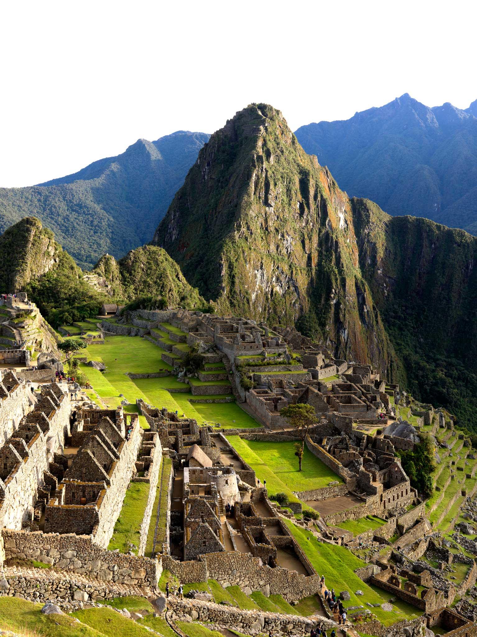 Machu Picchu after dawn : Peru