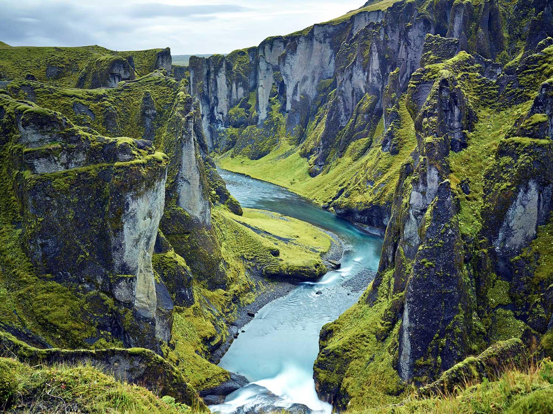 Less traveled canyon : Iceland