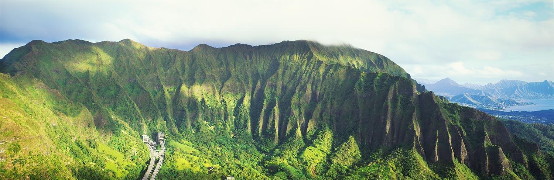 Haiku Stairs : Oahu