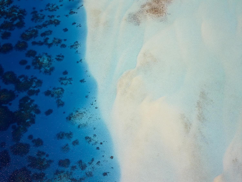 Textures from the air : Bora Bora
