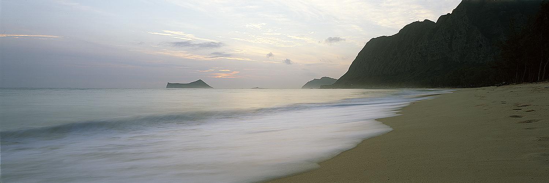 Waimanalo vog sunrise, Oahu 2014