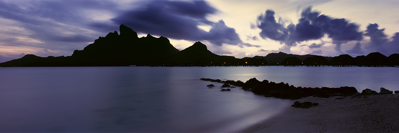 Bora Bora Sunset, French Polynesia 2013