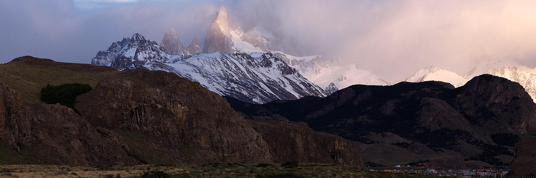 Sunrise over El Chalten, Argentina 2012