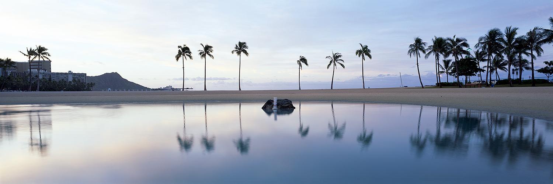 Waikiki Refelctions, Oahu 2013