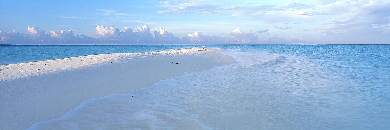 Sandbar at first light, Maldives 2012