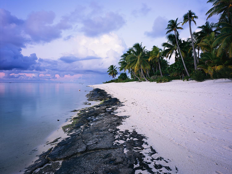 Brando Island sunset, Tahiti 2016