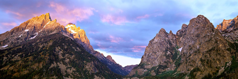 String Lake sunrise, Wyoming 2011