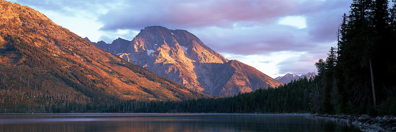 Mt. Moran at sunrise, Wyoming 2011