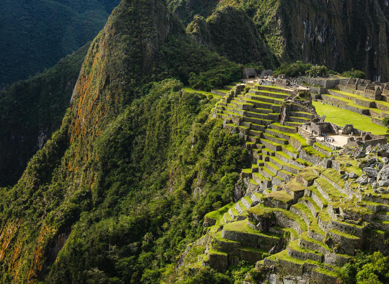 Machu Picchu ruins, Peru 2012