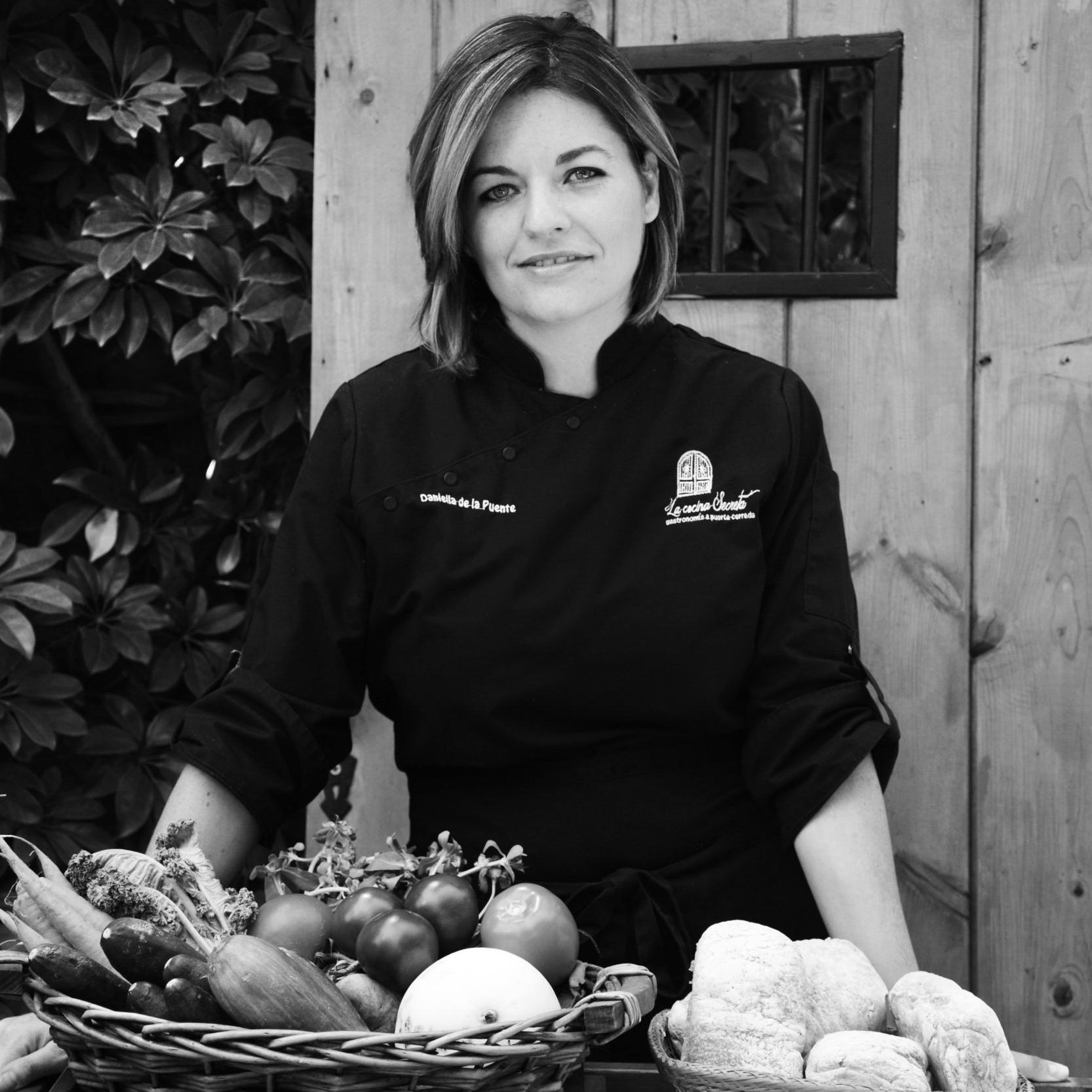 Chef Daniela De la Puente