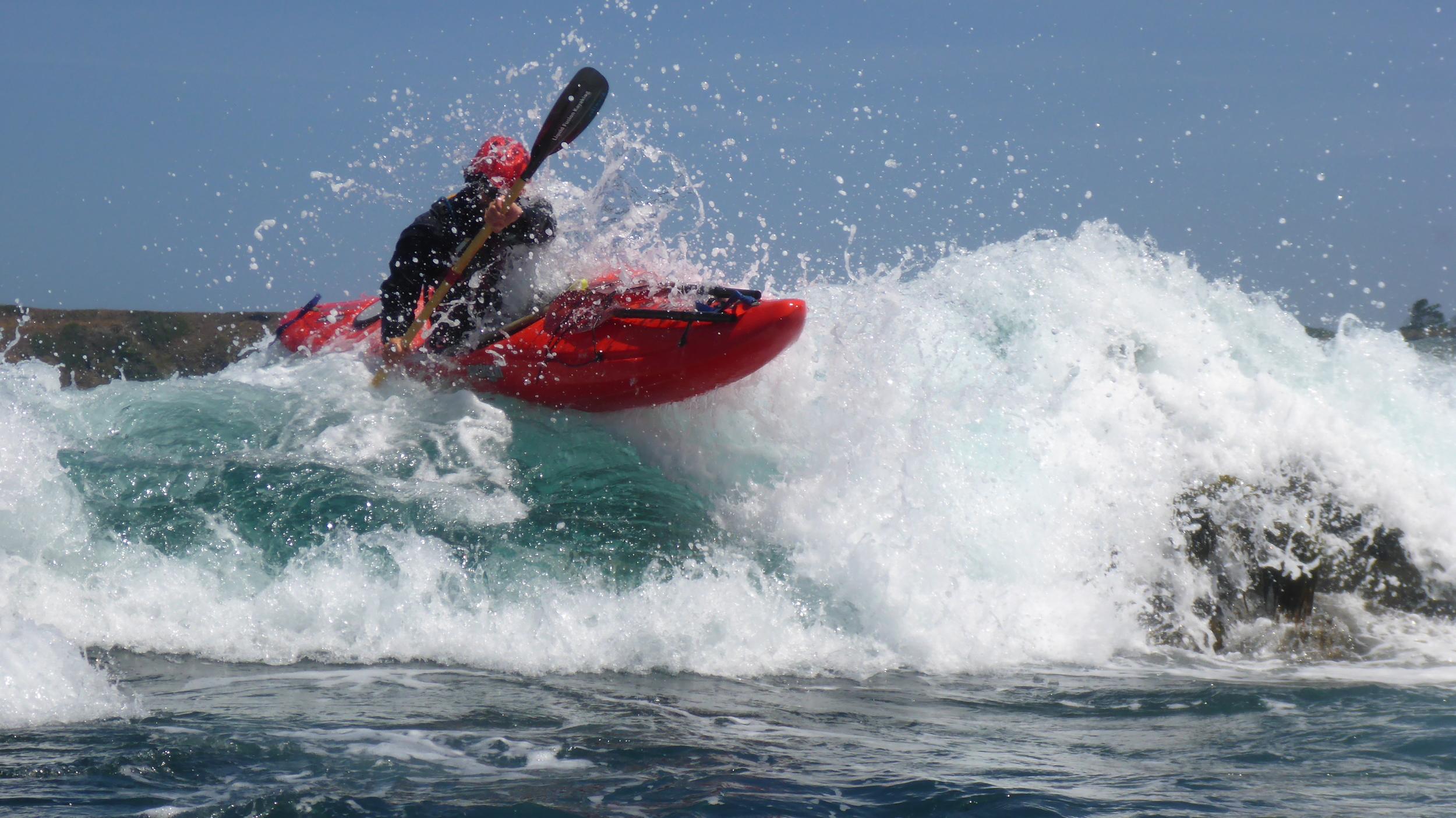 Ocean Whitewater Kayaking