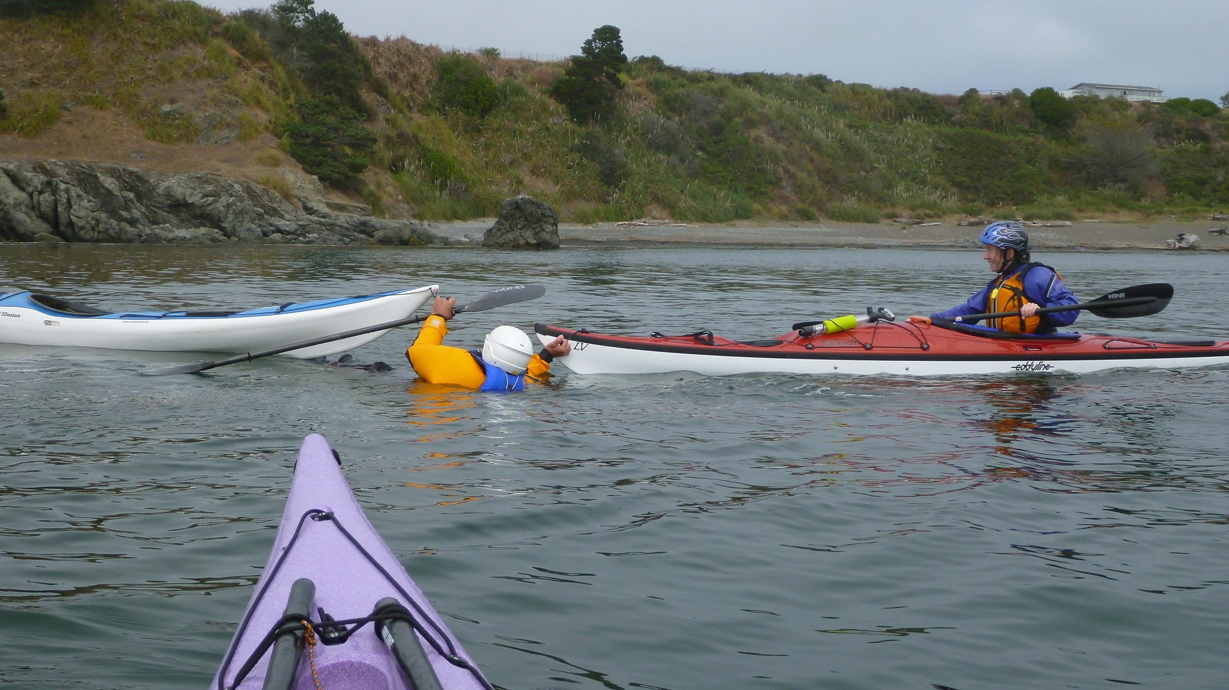 Sea Kayak Rescue Skills