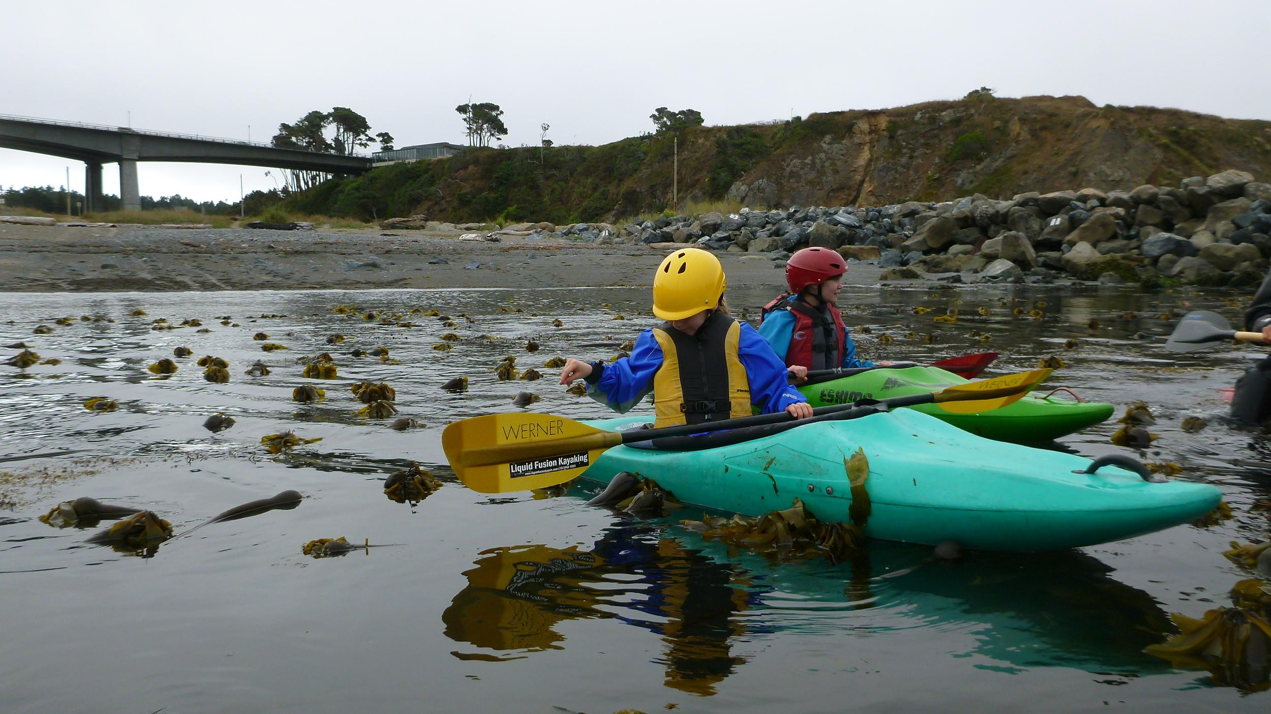 custom kids kayaking trips