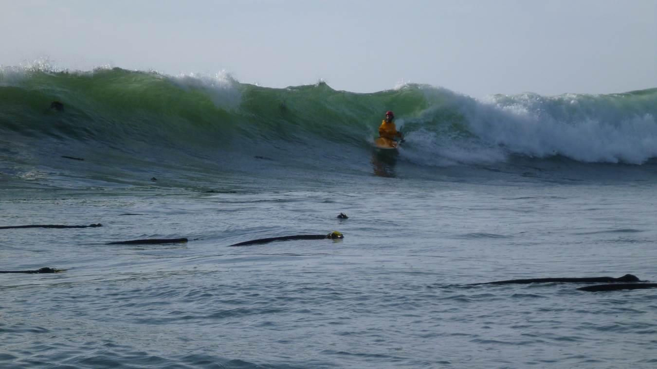 high performance surf kayak