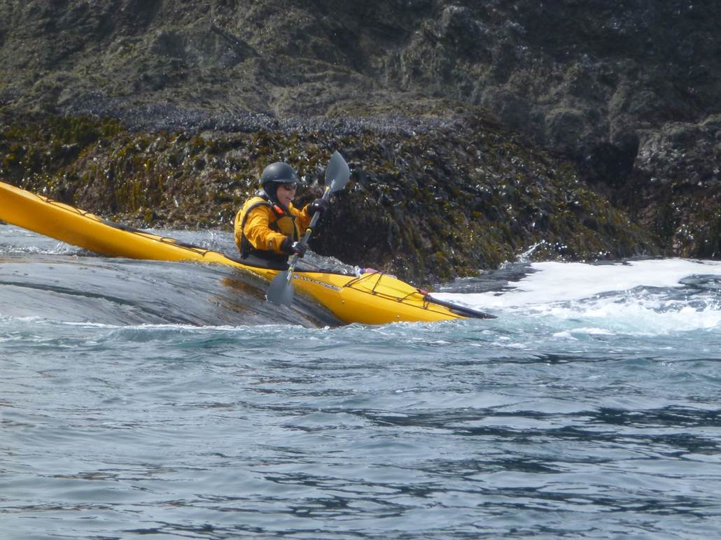 Sea Kayak Rock Gardening on the Mendocino Coast