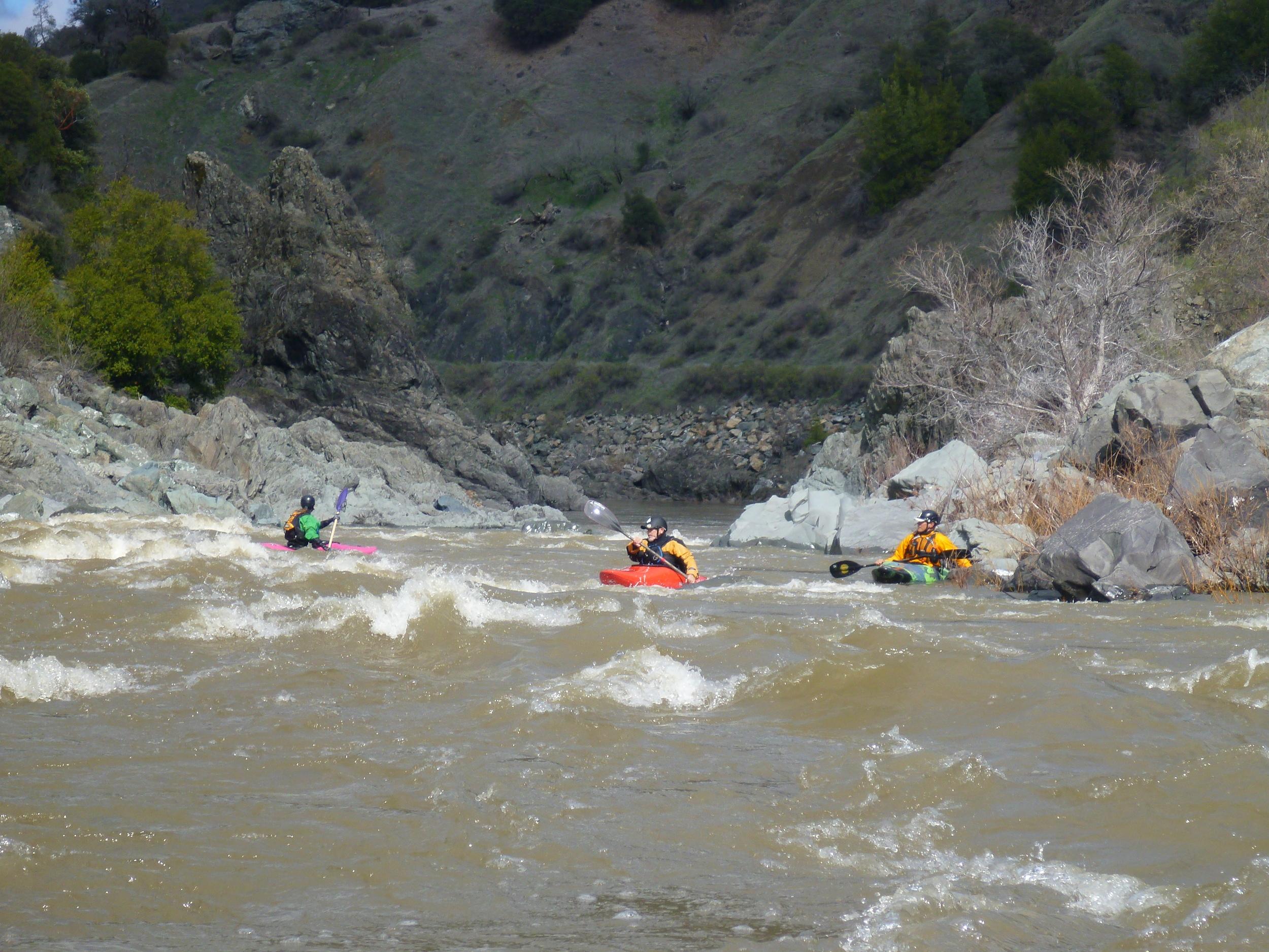 Whitewater Kayaking on Eel River