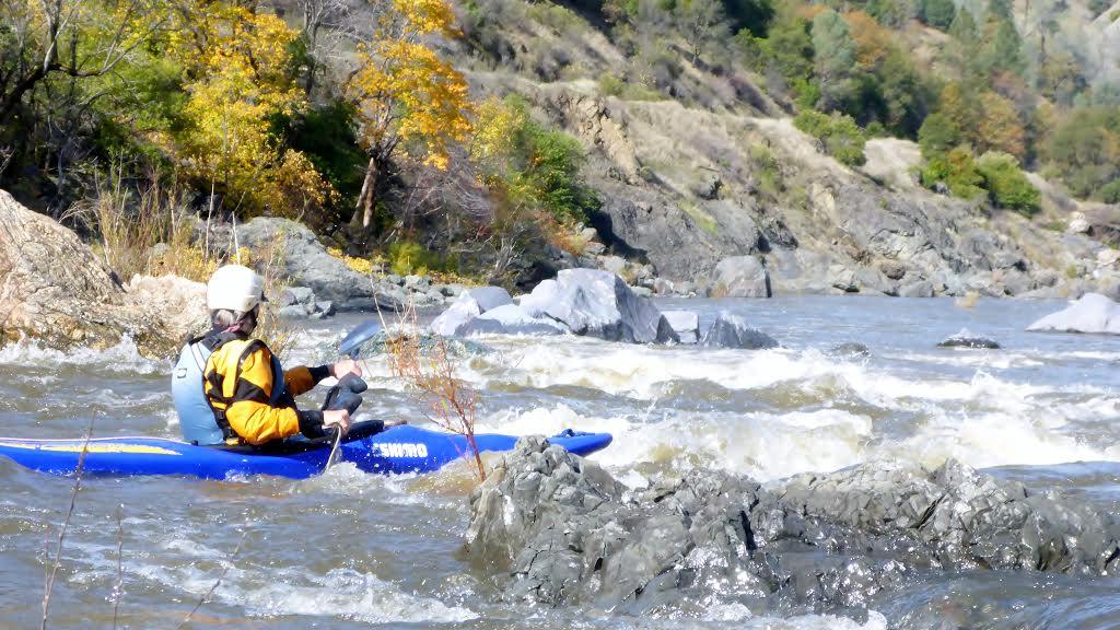 Eel River Whitewater Kayaking