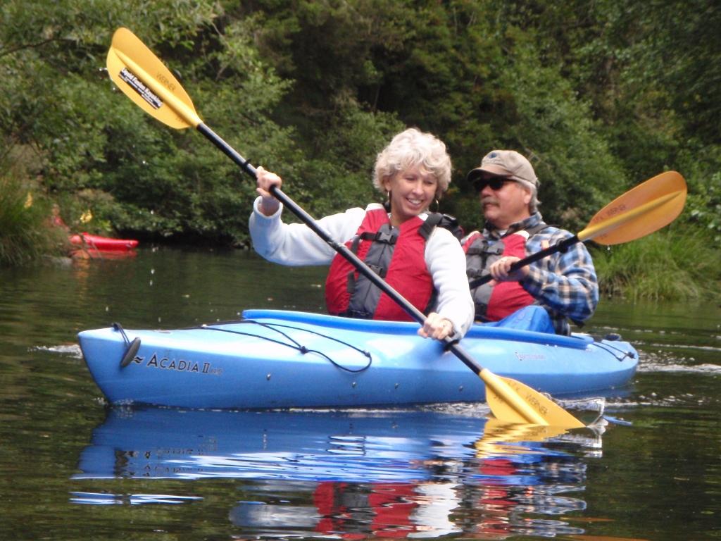 Noyo River Kayaking