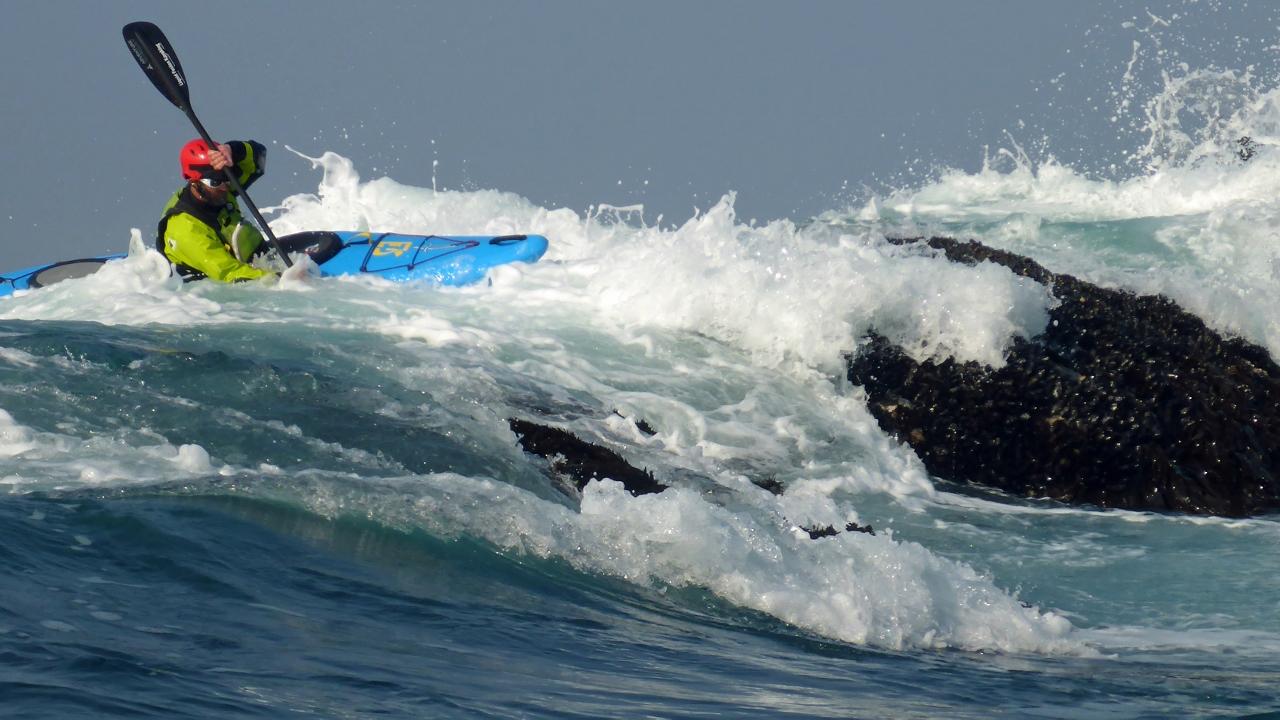 Whitewater of the Sea aka Kayaking Ocean Rock Gardens