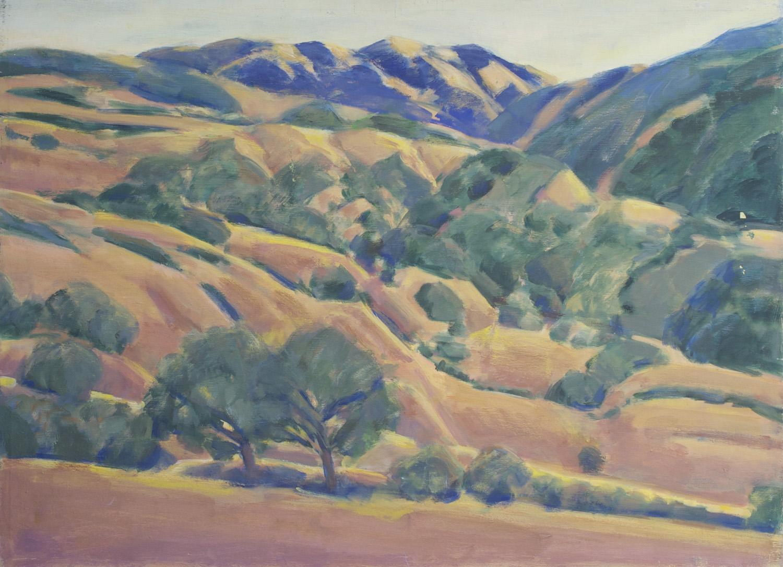 Coast Range and Hills, California