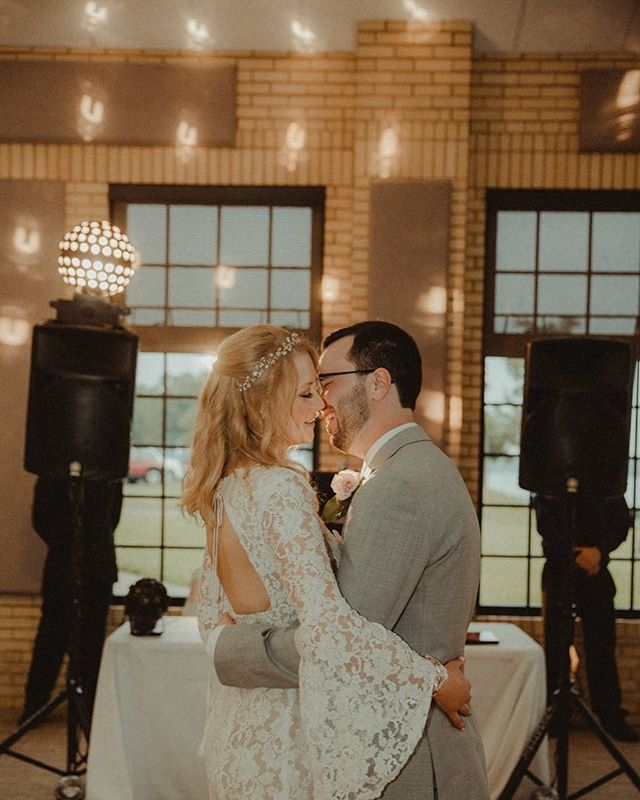 Love this romantic capture ✨✨ . #junebugsweddings  #lookslikefilm #loafpresets  #canon #detroitweddings #detroitweddingphotographer #radlovestory  #michiganweddings  #brides #theknot #brideinspo #lace #vintagebrides