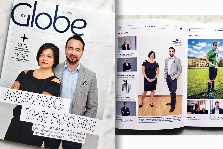 The Globe magazine cover | Summer edition 2017