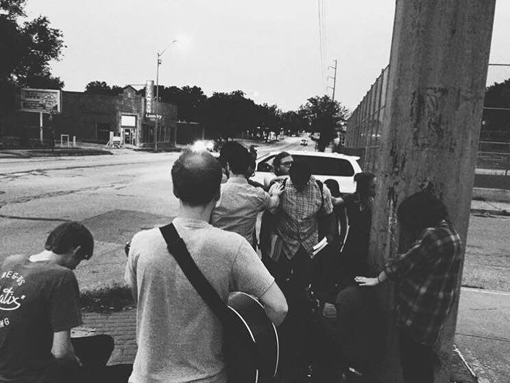 Worshipping, praying, and ministering to people along Troost - the street that still serves as a racial divide in our city to this day.
