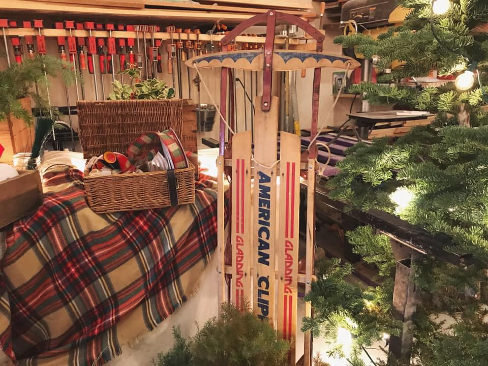 wreath workshop at willow and mabel co. -