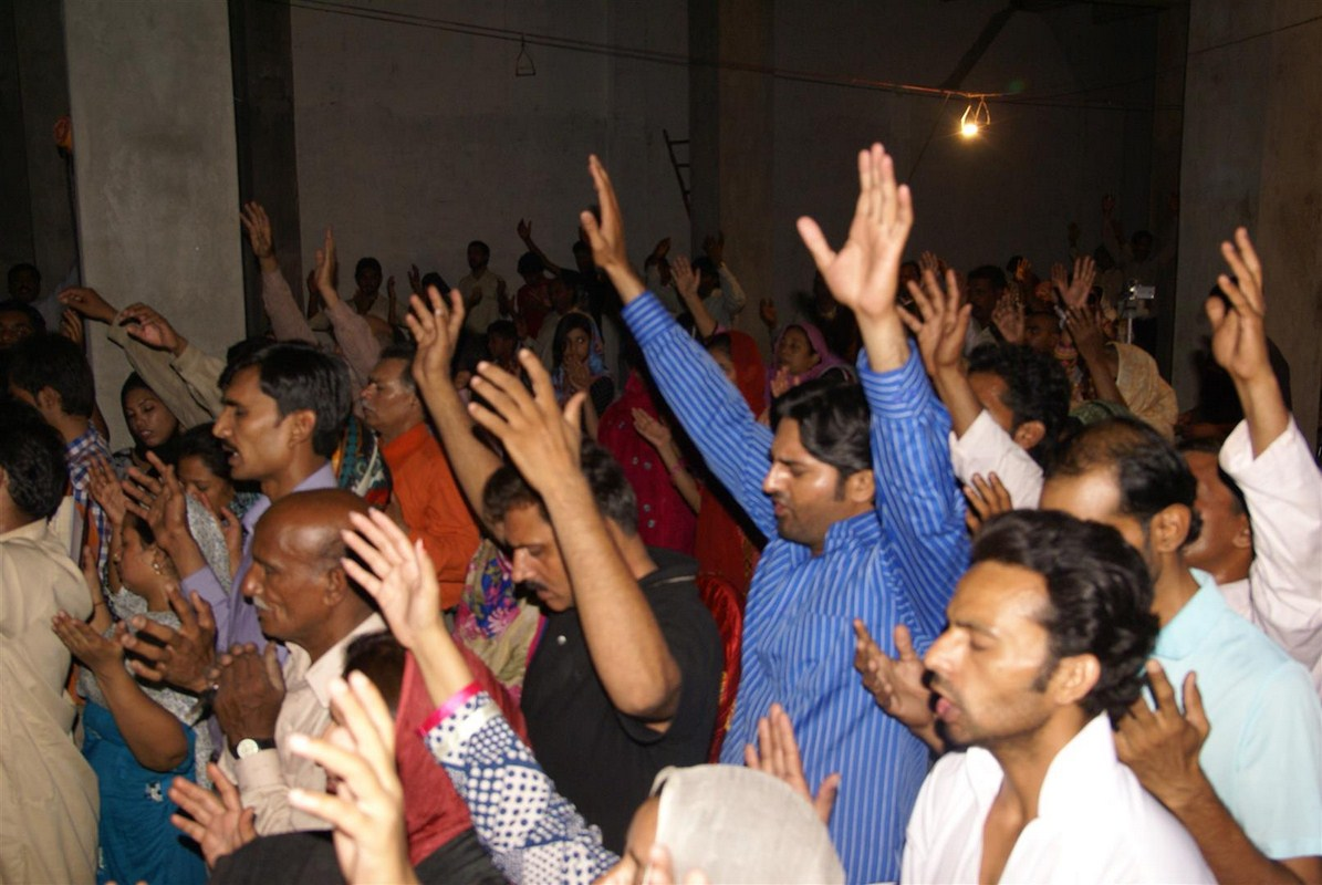 Christians in South Asia praying for the Gospel Campaign coming up soon