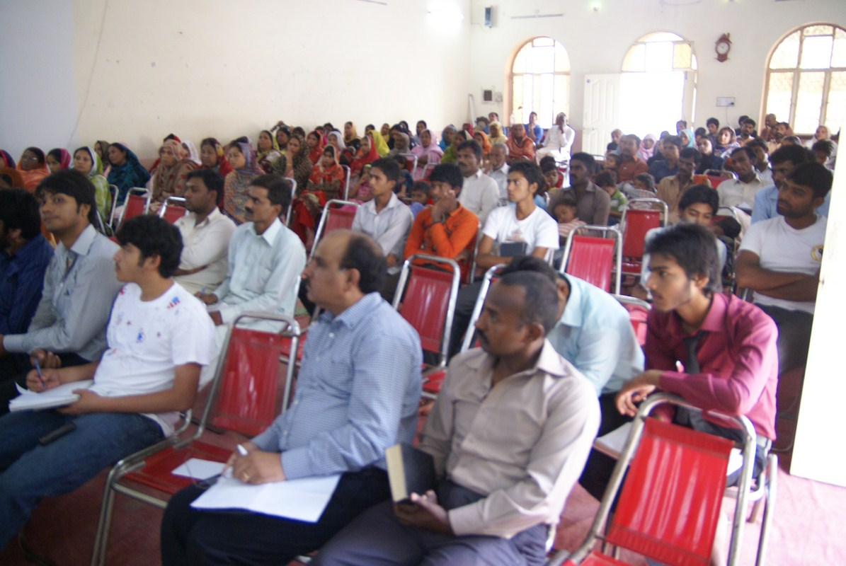 Planning meeting for the Gospel Campaign in South Asia.