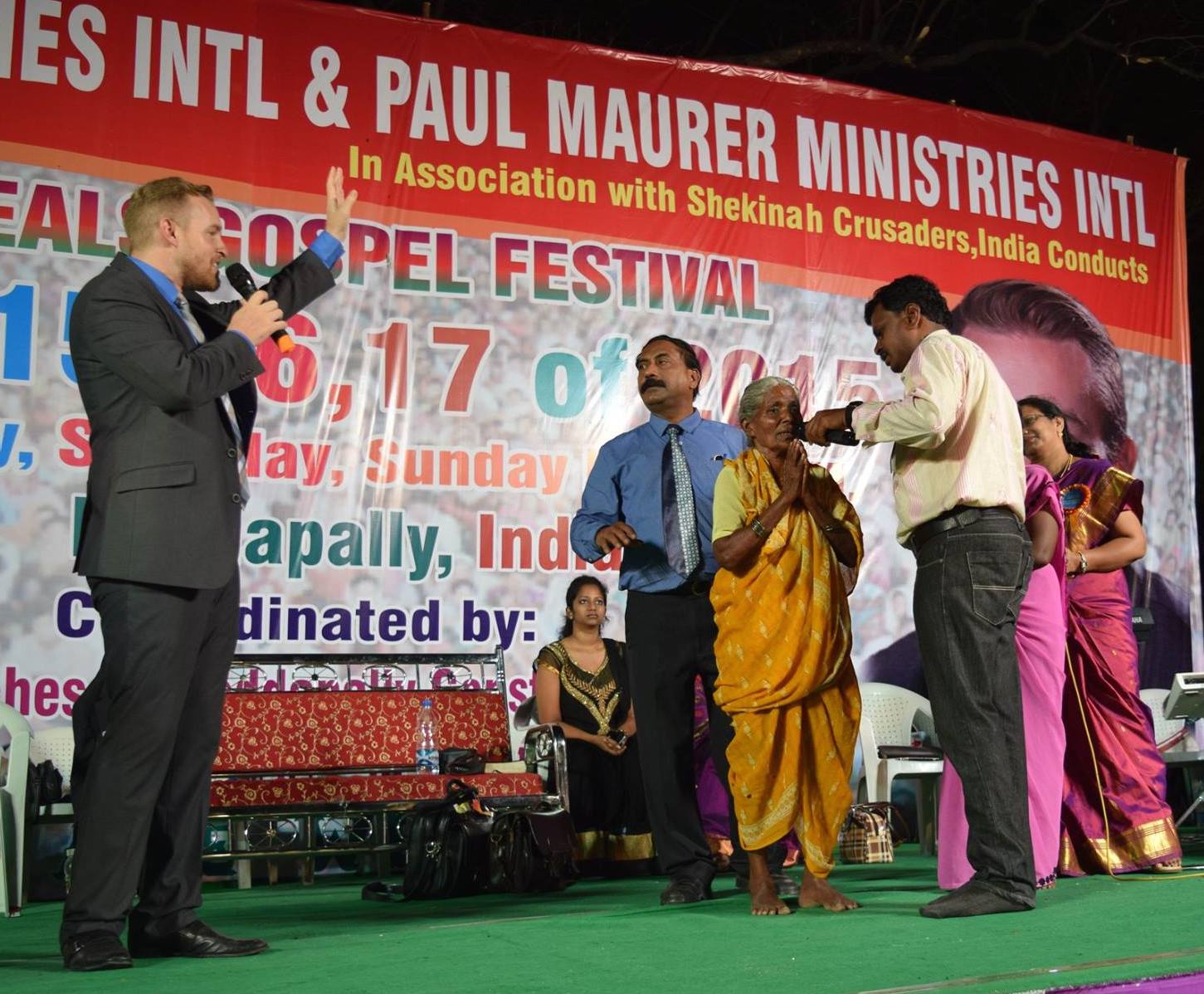 Jesus restored this deaf woman's hearing!